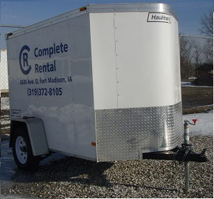 Where to find Trailer, Enclosed, 5  x 11  White in Fort Madison