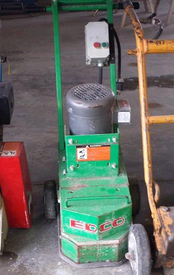 Floor Grinder Edco 10 Inch Single Disc Rentals Fort