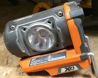 Where to find Light, Work Ridgid LED R8691 in Fort Madison