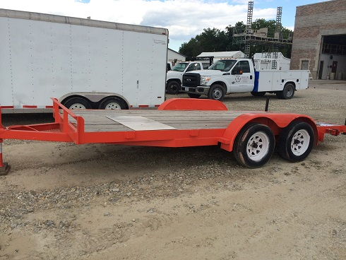 Where to find Trailer, Utility 2001 Biltrite flatbed in Fort Madison