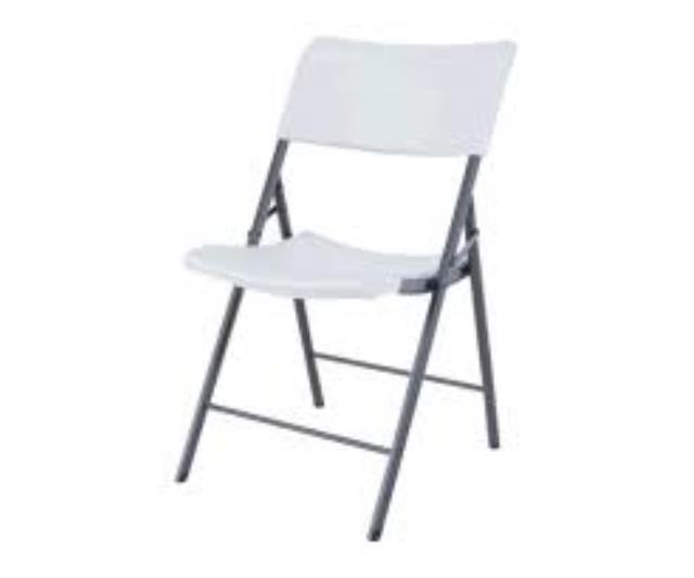 Where to find Chair White Alloyfold in Fort Madison