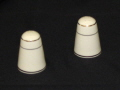 Where to rent Shaker Ivory Salt   Pepper Set in Fort Madison IA