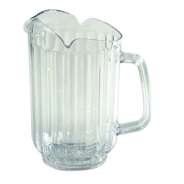 Where to find Pitcher Clear Plastic 60 oz. in Fort Madison