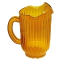 Where to rent Pitcher Plastic Amber, 60 oz. in Fort Madison IA
