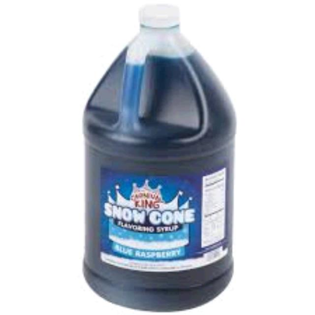 Where to find Snow Cone Syrup Blue Raspberry 1 Gal. in Fort Madison