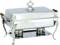 Where to rent Chafing Unit, Decorative Wood Handle 8qt in Fort Madison IA