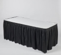 Where to rent Kwik Cover Tablecloth Skirt Combo 8 x30 in Fort Madison IA