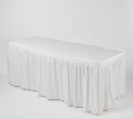 Where to rent Kwik Cover Tablecloth Skirt Combo 6 x30 in Fort Madison IA