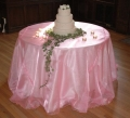 Where to rent Organza Linens in Fort Madison IA