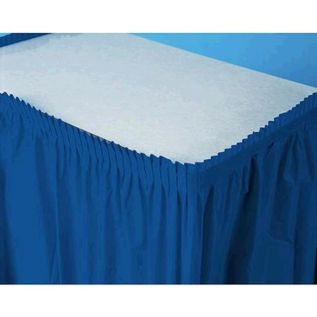 Where to find Table Skirt 14 x29  - Royal Blue in Fort Madison