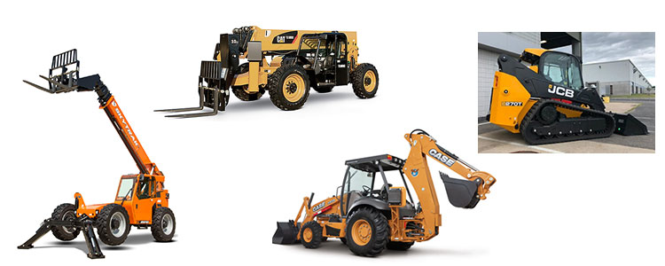 Heavy equipment rentals in Burlington Iowa, Ft. Madison IA, Keokuk IA, Nauvoo IL, Wayland MO