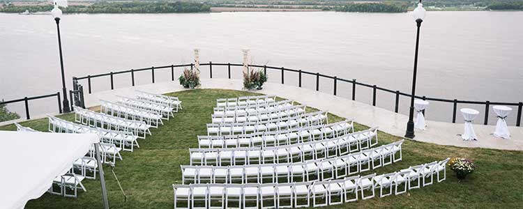 Event rentals in Burlington Iowa, Ft. Madison IA, Keokuk IA, Nauvoo IL, Wayland MO